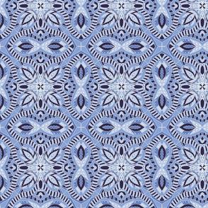 Chintz China Blue light tile
