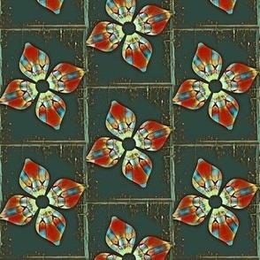 Framed Blooms - V.7
