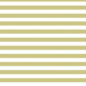 olive green white stripes