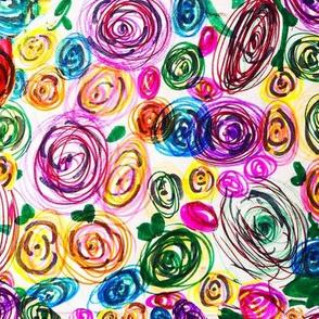 Kinsleys Rainbow Floral