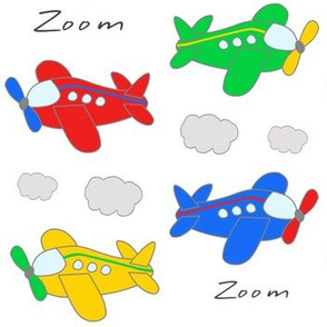 Airplanes Baby Boy Kids Nursery