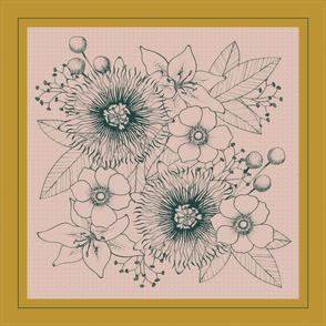 Floral Bouquet Scarf