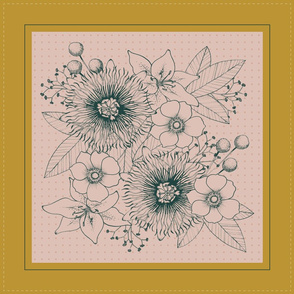 Floral Bouquet Bandana