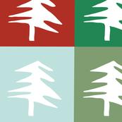 Plaid Pine Green