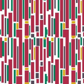 Geometric Christmas Strips