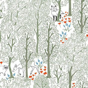 Whimsical Woodland