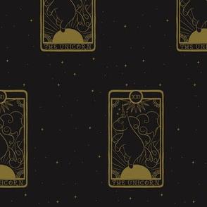 Tarot The Unicorn Gold