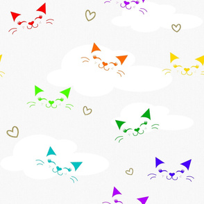 Cat Love Rainbow