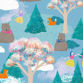 Whimsey Bear & Friends
