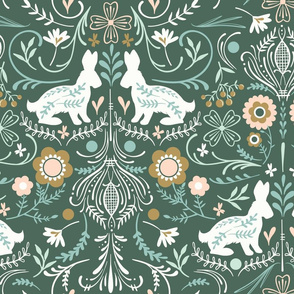 Floral Rabbits