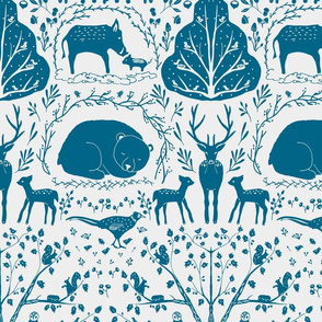 Forest animals wonderland