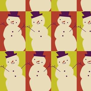 Jaunty snowmen ~ citrus and spice