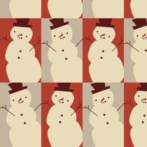 Jaunty snowmen ~ cinnamon spice