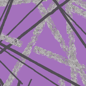 Purple texture sticks