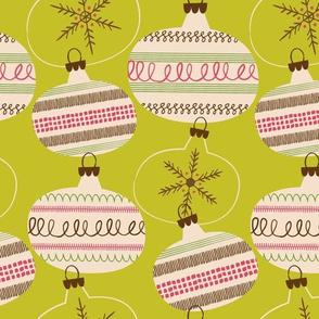 Christmas Balls  ~ Woodsy