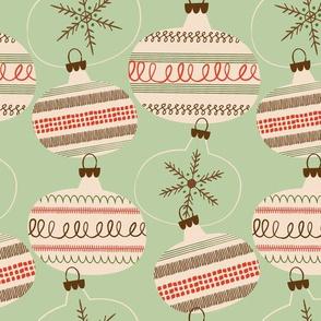 Christmas Balls  ~ Minty
