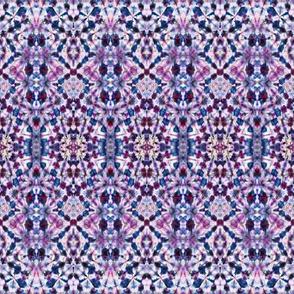 Muted Mauve Mosaic Lace