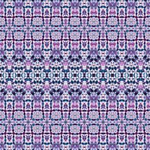 Teal & Lavender Soft Lace