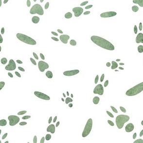 "Whimsical Guinea Pig Paws & ""Beans"""