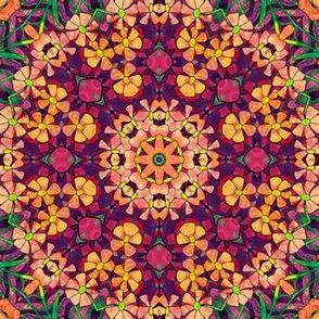 Floral Fall Mandala