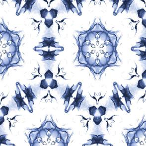 Blue Hexagon Star 24