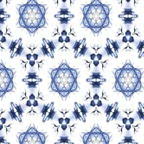 Blue Hexagon Star 16
