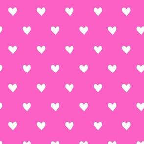 hearts  - dark pink - valentines day - love - LAD19
