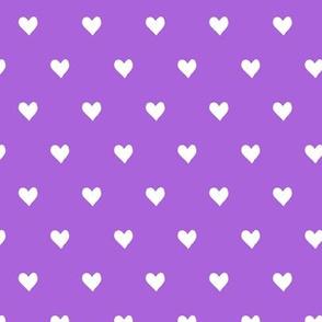 hearts  - purple - valentines day - love - LAD19