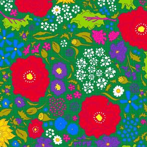 70s Spring Garden
