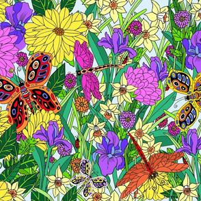 Whimsical Wild Garden