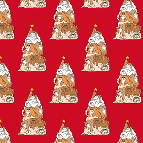 Christmas Tree Cats_8x8