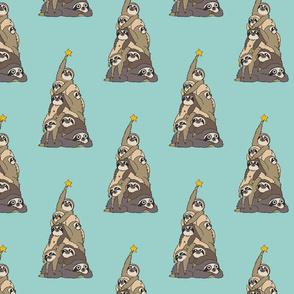 Christmas Tree Sloth_8x8