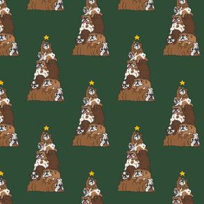 Christmas Tree English Bulldog_8x8