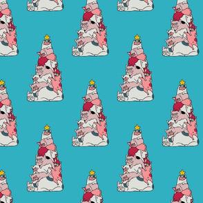 Christmas Tree French Bulldog_8x8
