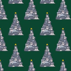 Christmas Tree Schnauzer_8x8