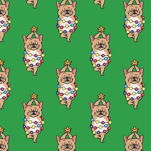 French Bulldog Merry Christmas_8x8