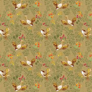 Birdsong Meadow {Linen}-small