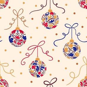 Christmas Balls  Gold&&Blu