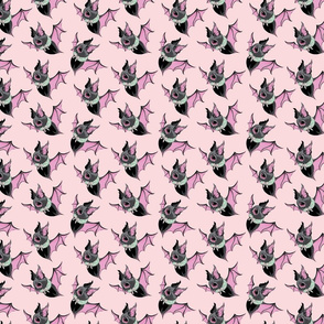 Batsy the Christmas Bat-Pink
