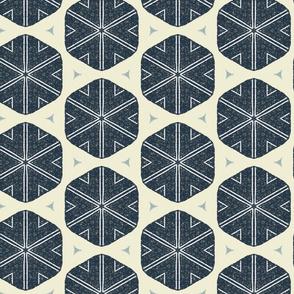Mod Snowflake M+M Navy Black by Friztin