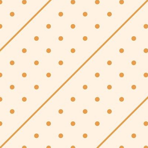 Christmas Dots&Lines - Ivory&Gold