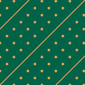 Christmas Dots&Lines Green