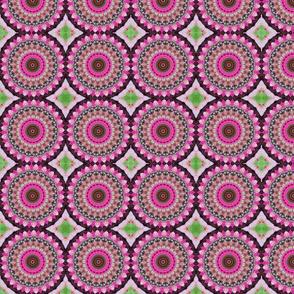Pink Floral Pinwheels 2591