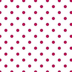Prunella Dots - White Pink