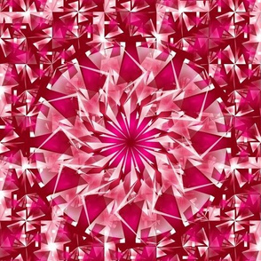 icy raspberry kaleidoscope