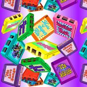 8 tracks purple