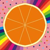 Pop Art Orange Twist
