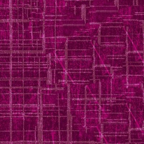 Solid Berry Pink Magenta Distressed Grunge Quilt blender