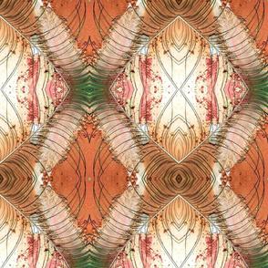 peacock feather blush powder rhombus kaleidoscope large