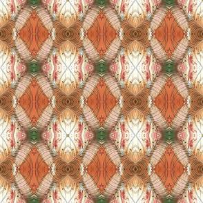 peacock feather blush powder rhombus kaleidoscope medium